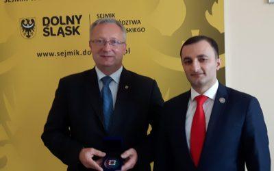 Medal za współpracę.